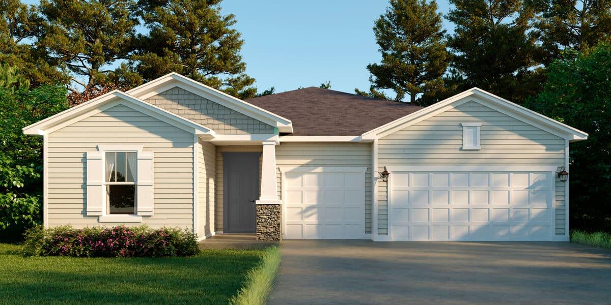 Model Home at Reverie at Trailmark